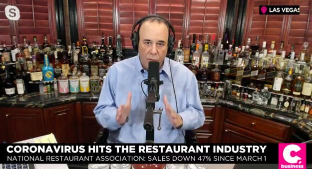 Coronavirus hits the restaurant