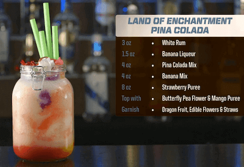 Land of Enchantment Pina Colada