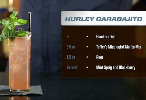 Hurley Carabajito Drink Recipe
