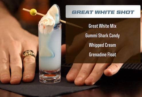 Great White Shot Drink Recipe