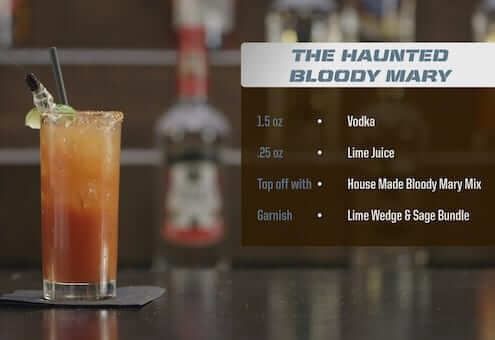 The Haunted Bloody Mary Drink Recipe