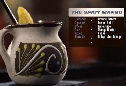 The Spicy Mango Drink Recipe