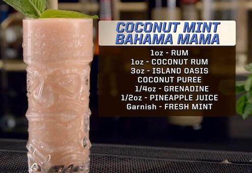 Coconut Mint Bahama Mama Recipe