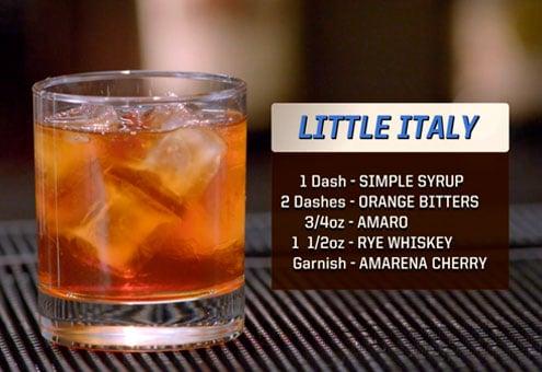 Little Italy Drink Recipe
